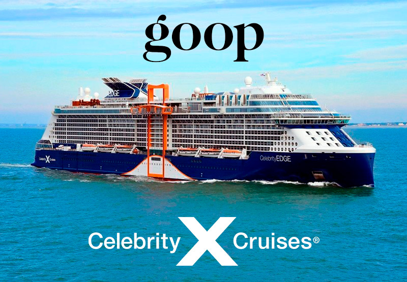 GOOP y Celebrity Cruises