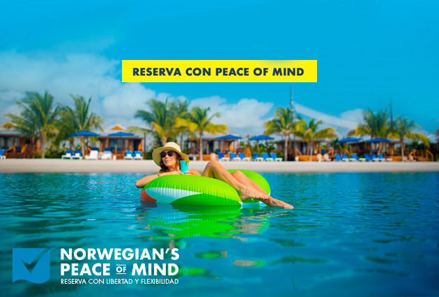 NCL Reserva con peace of mind.