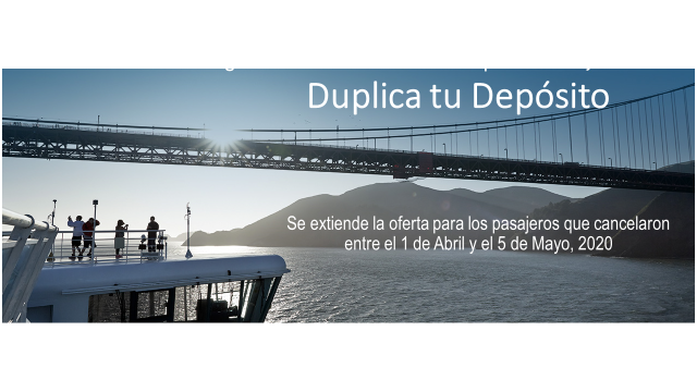 Princess Cruises - Se extiende la oferta: Duplica tu Depósito