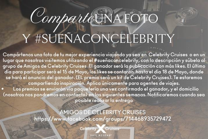 Sueña con Celebrity Cruises