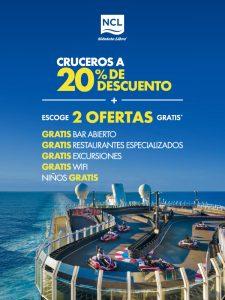 Norwegian cruises promociones