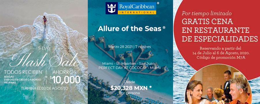 Promociones Vigentes International Cruises