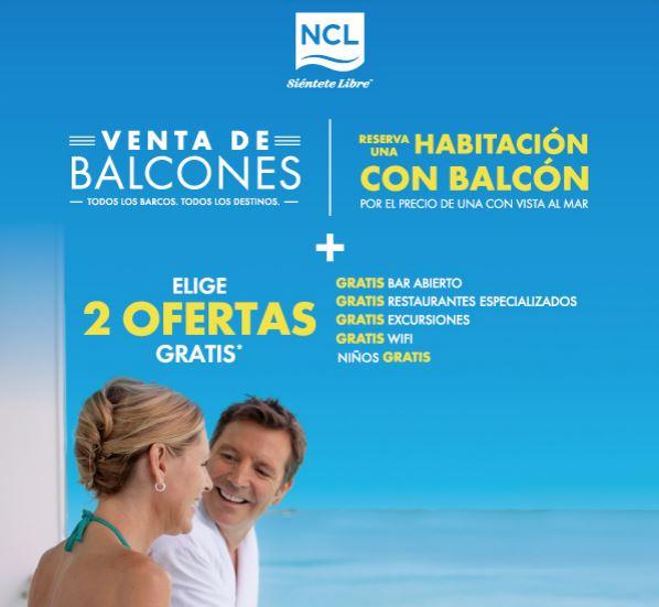 Venta de Balcones NCL