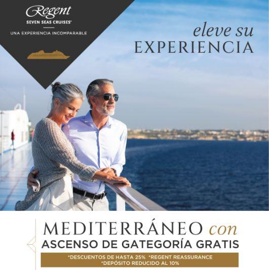 Eleve su experiencia con Regent Seven Seas