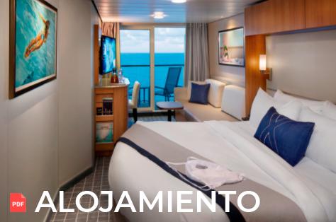 Guía de Cabinas en barcos de celebrity cruises a Alaska