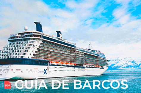 Guía de Barcos de Celebrity Cruises a Alaska