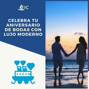 Aniversario de bodas en crucero