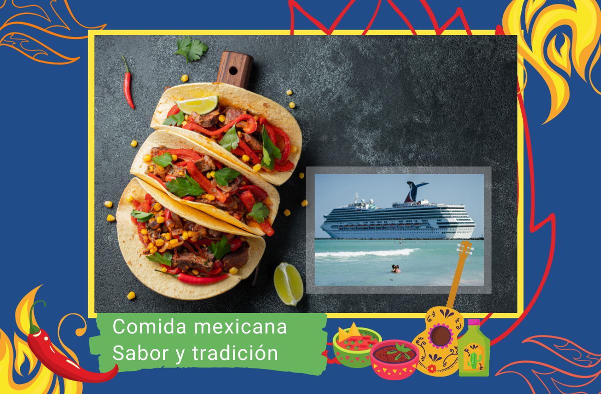 comida mexicana en cruceros