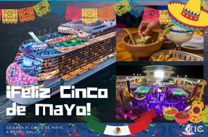 Cinco de Mayo a bordo