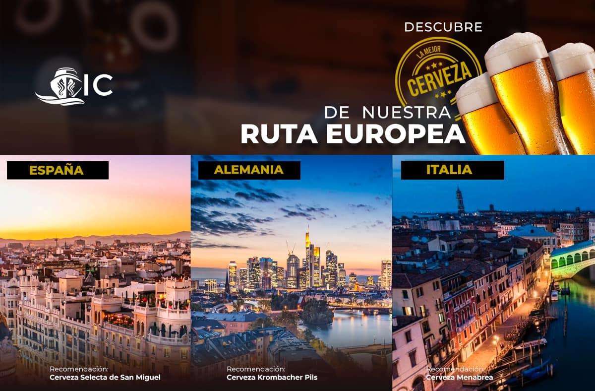 Cerveza ruta europea