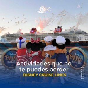 Actividades en Disney Cruises